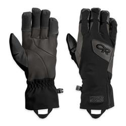 Outdoor Research Super Vert Gloves-Black / Charcoal