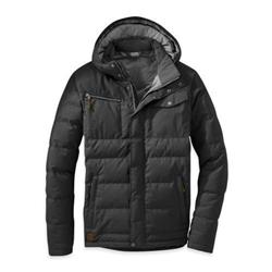 Outdoor Research Whitefish Down Jacket - Mens-Black