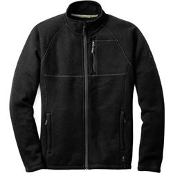 Smartwool Echo Lake Full Zip - Mens-Charcoal Heather