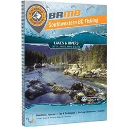 Backroad Mapbooks South Western BC Fishing - Spiral - 4th Edition-Not Applicable