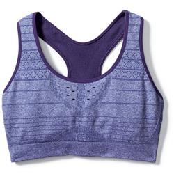 Smartwool PhD Seamless Racerback Bra - Womens-Mountain Purple Heather