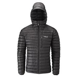 Rab Microlight Alpine Jacket - Mens-Black / Shark