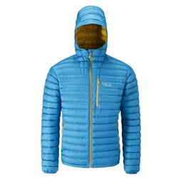 Rab Microlight Alpine Jacket - Mens-Merlin / Mimosa