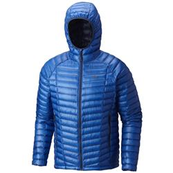 Mountain Hardwear Ghost Whisperer Hooded Down Jacket - Mens-Altitude Blue