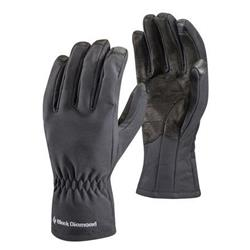 Black Diamond Soft Shell Gloves-Black