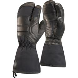 Black Diamond Guide Finger Gloves-Black
