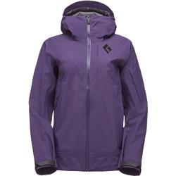 Black Diamond Mission Shell - Womens-Nightshade