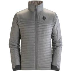Black Diamond Hot Forge Hybrid Jacket - Mens-Nickel