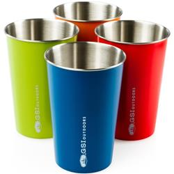 GSI Outdoors Glacier Stainless Pint Set - Multi-color-Not Applicable