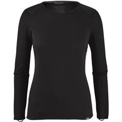 Patagonia Capilene Thermal Weight Crew - Womens-Black