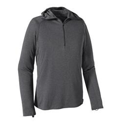 Patagonia Capilene Thermal Weight Zip Hoody - Mens-Forge Grey - Feather Grey X-Dye