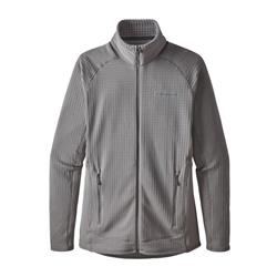 Patagonia R1 Full Zip Jacket - Womens-Feather Grey