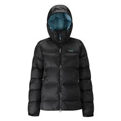 Rab Neutrino Endurance Jacket - Womens-Black / Seaglass