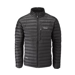Rab Microlight Jacket - Mens-Black / Shark
