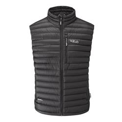 Rab Microlight Vest - Mens-Black / Shark