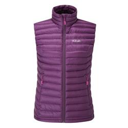 Rab Microlight Vest - Womens-Berry / Tayberry