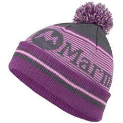 Marmot Foxy Pom Hat - Womens-Dark Steel