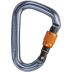 Black Diamond Mini Pearbiner Screwgate Carabiner-Not Applicable