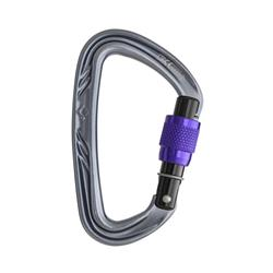 Black Diamond Nitron Screwgate Carabiner-Not Applicable
