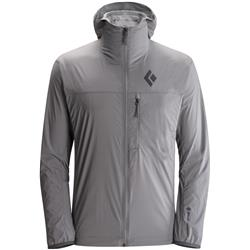Black Diamond Alpine Start Hoody - Mens-Ash