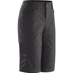 Arcteryx Parapet Long Shorts - Womens-Carbon Copy