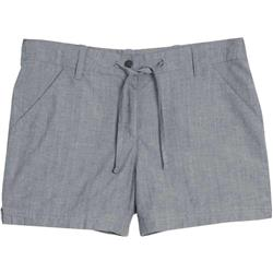 "Icebreaker Shasta Shorts, 4.5"" Inseam - Womens-Fathom Heather"