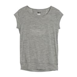 Icebreaker Sublime SS T - Womens-Metro Heather