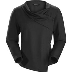 Arcteryx Yonge LS Wrap - Womens-Black