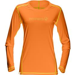 Norrona /29 Tech LS Shirt - Womens-Pure Orange