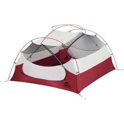 MSR Mutha Hubba NX Tent V2, 3 Person - Red-Not Applicable