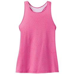 Prana Boost Printed Top - Womens-Cosmo Pink Serenity
