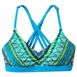 Prana Cyra Top - Womens-Vivid Blue Panama