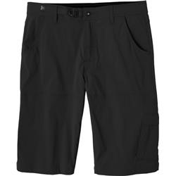 "Prana Stretch Zion Shorts, 12"" Inseam - Mens-Black"