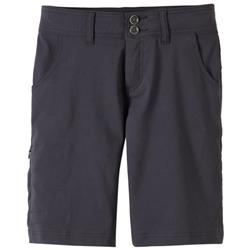 "Prana Halle Shorts, 11"" Inseam - Womens-Coal"