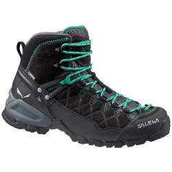 Salewa Alp Trainer Mid GTX - Womens-Black Out / Agata
