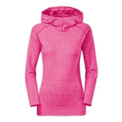 The North Face Go Seamless Pullover Hoodie - Womens-Fuchsia Pink Heather
