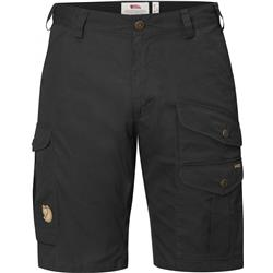 Fjallraven Barents Pro Shorts - Mens-Dark Grey / Dark Grey