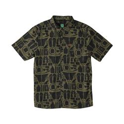 Hippy Tree Daytripper Woven - Mens-Army