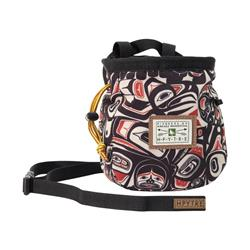 Hippy Tree Raven Chalkbag-Black