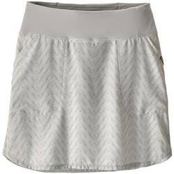 Patagonia Tech Fishing Skort - Womens-Bluff River / Tailored Grey