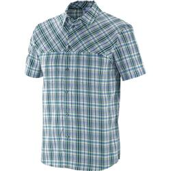 Nomad Plaid SS Shirt - Midnight / Union Blue - Mens