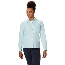 Mountain Hardwear Canyon LS Shirt - Womens-Eddy