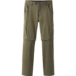 "Prana Stretch Zion Convertible Pants, 34"" Inseam - Mens-Cargo Green"