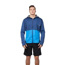 Level 6 Jericho Hoodie Neoprene Jacket - Mens-Lake Blue