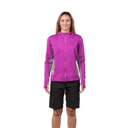 Level 6 Sombrio Hoodie Neoprene Jacket - Womens-Aubergine
