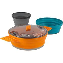 Sea To Summit X-Set 21 - 3 Piece - X-Pot - 1.4L & X-Bowl & X-Mug-Orange