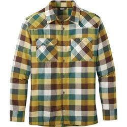 Outdoor Research Feedback Flannel Shirt - Mens-Bark Plaid