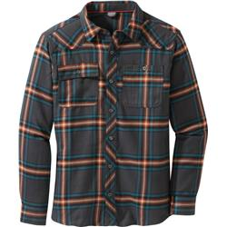 Outdoor Research Feedback Flannel Shirt - Mens-Storm Plaid