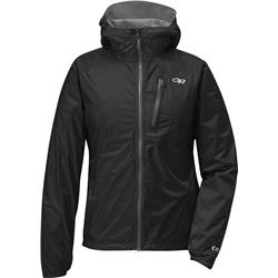 Outdoor Research Helium II Jacket - Womens-Black / Charcoal