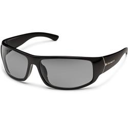 Suncloud Turbine, Black Frame, Polarized Gray Lens-Not Applicable